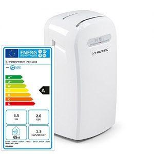 Climatiseur monobloc compact et performant TROTEC PAC 3500
