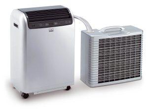 Climatiseur split mobile, climatiseur de nuit silencieux Remko RKL 491 DC