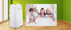 Climatiseur mobile local monobloc chambre TROTEC PAC 3500 E