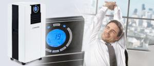 Climatiseur local portatif puissant Trotec PAC 4700 X