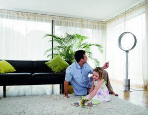 Ventilateur maison famille Dyson AM08 utilisation