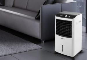 Humidificateur purificateur air OneConcept MCH-2 v2 indicateur de niveau