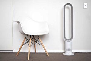 Ventilateur sans pale Dyson AM07 fiche-conseil caractéristiques techniques