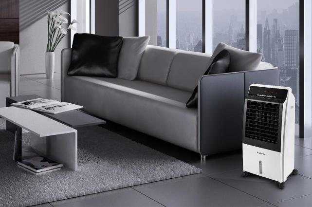 notre avis complet sur le rafra chisseur d 39 air klarstein. Black Bedroom Furniture Sets. Home Design Ideas