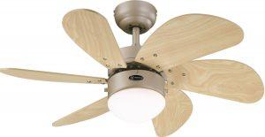 Ventilateur plafond silencieux Westinghouse Turbo Swirl