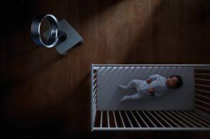 Ventilateur silencieux portatif pour bébé Dyson AM06