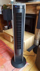 Ventilateur silencieux avec télécommande Honeywell HO5500RE