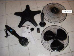Achat ventilateur silencieux avec pales Honeywell HT1655E4 QuietSet - pièces