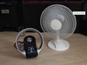 Ventilateur design de table silencieux pas cher Klarstein MyStream comparatif