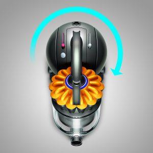 Maniabilité de l'aspirateur sans sac Dyson DC33C