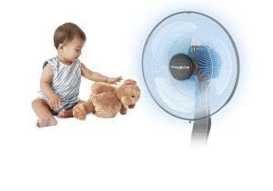 Sécurité avec ce ventilateur Rowenta