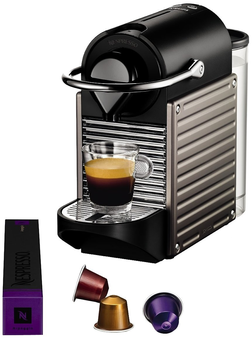 cafeti re expresso capsules krups nespresso yy1201fd. Black Bedroom Furniture Sets. Home Design Ideas
