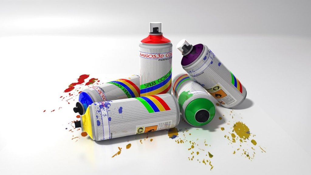 bombe peinture